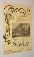 B0807[Tijdschrift] Temps Jadis : Notre Région Au Temps Des Cartes Postales No 7 1979 [Verviers Spa Herve Theux Jalhay - Belgium