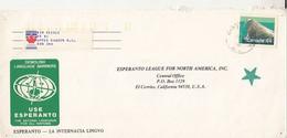 LANGUAGES, ESPERANTO INTERNATIONAL LANGUAGE, WALRUS STAMP, SPECIAL COVER, 1989, CANADA - Esperanto