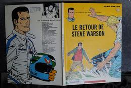 4847/J.GRATON-M.VAILLANT-Le Retour De Steve Warson-Ed. Du Lombard - Autres Auteurs