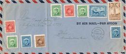 40381. Carta Aerea BATAWA (Ontario) Canada 1945 A  ZLIN Checoslovaquia - Briefe U. Dokumente