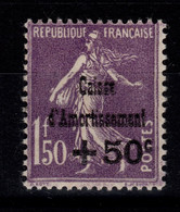 YV 268 N* Caisse D'Amortissement Cote 80 Euros - Ongebruikt