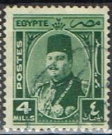 ED 15 - EGYPTE N° 226 Obl. Roi Farouk - Used Stamps