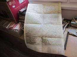 Sremska Mitrovica  Jugosovenska Armija Military Map Officer Map 67x46 Cm - Geographical Maps