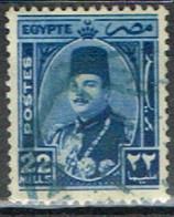 ED 15 - EGYPTE N° 232 Obl. Roi Farouk - Used Stamps