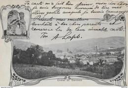 CB    CHATEL SAINT GERMAIN ..-- 1904 De MOYEUVRE Vers BRUXELLES ( Mr Léon DETRY ) . Voir Verso . - Metz