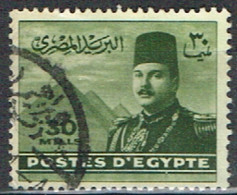 ED 15 - EGYPTE N° 256 Obl. Roi Farouk - Used Stamps