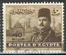 ED 15 - EGYPTE N° 257 Obl. Roi Farouk - Used Stamps