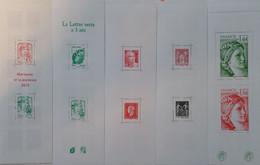 France Carnets à Composition Variable YT N° 1520A, 1521, 1522, 1523 Et 1524 Neufs ** MNH. TB. A Saisir! - Definitives