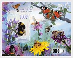 Hungary Ungarn MNH ** 2021  Pollinating Insects - Ongebruikt