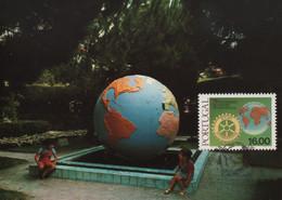 CARTE MAXIMUM - MAXIMUM KARTE - MAXIMUM CARD - PORTUGAL - 1983 - LA PLANÈTE TERRE - OBLIT. TRIPLE - Other