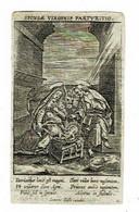 LEUVEN - Anna Catherina HANNAER - Wwe Advokaat DE BECK - Overleden 1825  - (Kopergravure) - Santini