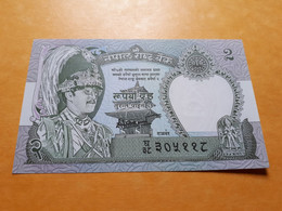 NEPAL 2 RUPEES 1981-2001 BILLET NEUF - Nepal