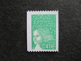 TB N° 3458 A , Timbre De Roulette, Numéro Rouge Au Verso, Neuf XX. - Nuovi