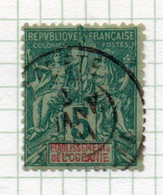 37CRT505 - OCEANIA 1892 ,  Yvert N. 4 Usato. - Used Stamps