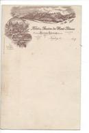 28067 -  Leysin Feydey Hôtel Du Mont Blanc  Litho 1897 Dequis - VD Vaud