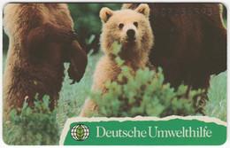 GERMANY O-Serie B-102 - 109 07.93 - Animal, Bear - MINT - O-Series : Séries Client
