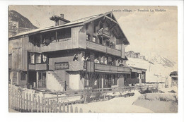 28068 -  Leysin Village Pension La Violette - VD Vaud