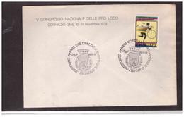 TEM13439   -  CORINALDO  10.11.1979    /   V° CONGRESSO PRO-LOCO D'ITALIA - Other