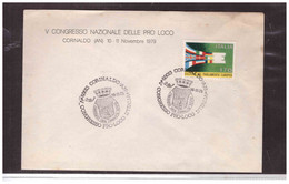 TEM13441   -  CORINALDO  10.11.1979    /   V° CONGRESSO PRO-LOCO D'ITALIA - Other