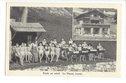 28071-  Leysin Ecole Au Soleil Le Mazot - VD Vaud