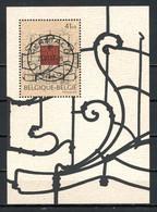 BE   BL74 - 74  Obl  --   Musée Horta  --  Oblitération  Centrale Herstal  --  Pleine Gomme / MNH - Blocks & Sheetlets 1962-....