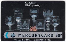 GREAT BRITAIN E-893 Magnetic Mercury - 18MERD - Used - [ 4] Mercury Communications & Paytelco