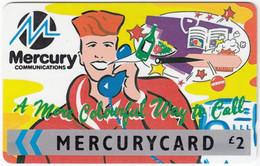 GREAT BRITAIN E-895 Magnetic Mercury - Cartoon - 22MERC - Used - [ 4] Mercury Communications & Paytelco