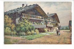 28077-  Leysin Chalets  Häuser In Leysin Signée - VD Vaud