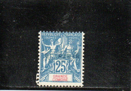GRANDE COMORE 1900-7 SANS GOMME SURCH. ULTRAMAR - Ongebruikt