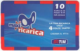 ITALY G-800 Prepaid TIM - Used - [2] Tarjetas Móviles, Prepagadas & Recargos