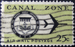 Panama - Canal Zone - 1968 - Mi:US-CZ 164, Sn:US-CZ C52, Yt:US-CZ PA46 O  - Look Scan - Panama