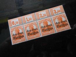 DR Mi 9c** Aufdruck Russig  Deutsche Besetzungsausgaben 1914/18 (Deutsche Post In Polen)  Mi 400 € -  Lot 553 - Occupation 1914-18