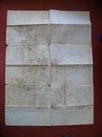1935 Croquis De La Province De KONTUM Du Lieutenant Vaziaga Viet Nam Vietnam Indochine &&& Originale &&& - Topographical Maps