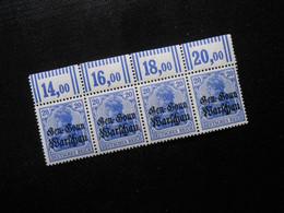 DR Mi 13a** Deutsche Besetzungsausgaben 1916 (Deutsche Post In Polen)  Mi 80 € -  Lot 555 - Occupation 1914-18