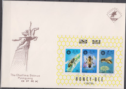 NORTH KOREA - Bee - FDC Cover - Corea Del Nord