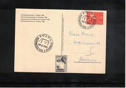 Sweden 1958 World Football Cup Sweden Interesting Postcard - 1958 – Svezia