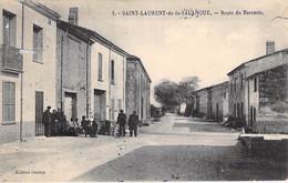 66 - SAINT LAURENT De La SALANQUE : Route Du Barcarès - CPA - - Other Municipalities