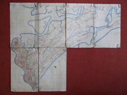 Carte Cap Saint Jacques Vũng Tàu Viet Nam Vietnam Mer De Chine Cochinchine Indochine Lieutenant Vaziaga Années 1940's - Documenti