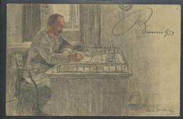 Ansichtskarte  -Rotes Kreuz, Kriegsfürsorgeamt Kriegshilfsbüro 1916 - War 1914-18