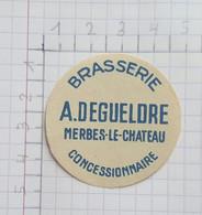 ETIQUETTE  BRASSERIE A. DEGUELDRE MERBES-LE-CHATEAU - Beer