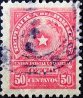 Paraguay - 1913 - Mi:PY D69, Sn:PY O90, Yt:PY S83 O - Look Scan - Panama