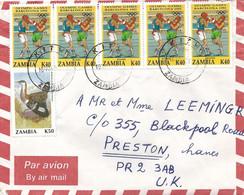 Zambia 1993 Kitwe Boxing Olympic Games Barcelona Bustard Cover - Pugilato