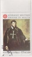 """SMOM - 1986 - Usato - """"Maestri Della Pittura 6^ Serie - Tiziano"""" 1v (rif. 256 Cat. Unificato) - Malte (Ordre De)"""