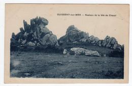 CPSM Guisseny Sur Mer Près De Lesneven 29 Finistère Rochers De La Tête De Cheval - Lesneven