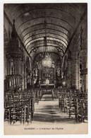 CPSM Guisseny Sur Mer Près De Lesneven 29 Finistère Intérieur église - Lesneven