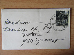 France - Petite Enveloppe Grazac Vers Yssingeaux 1932 - Timbre N°270 - Contient Une Carte De Visite Du Maire De Grazac - 1921-1960: Modern Tijdperk