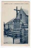 CPSM Guisseny Sur Mer Près De Lesneven 29 Finistère Le Monument Aux Morts De La Guerre - Lesneven