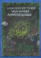 CPM Illustrateur Vasco Gasquet  Remenber Auvers Sur Oise Van Gogh - Enghein Les Bains 1er Festival 1989 315/3000 Rare... - Other Illustrators