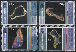 BIOT 2000 - Mi-Nr. 247-250 ** - MNH - Satellitenbilder - British Indian Ocean Territory (BIOT)