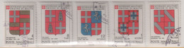 """SMOM - 1980 - Usato - """"Stemmi Dei Gran Maestri - 3^ Serie"""" S. Cpl 5v (rif. 175/79 Cat. Unificato) - Malte (Ordre De)"""